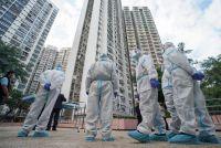 COVID-19 in residential area in HK (Photo Source: SCMP)